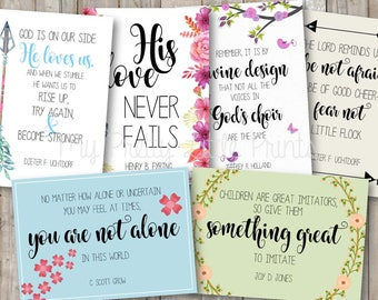 General Conference Quotes- April 2017 *INSTANT DOWNLOAD*