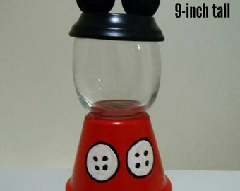 Mickey Mouse inspired Candy Jar