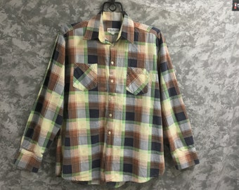 70's-80's Flannel Shirt