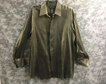 1990's Shiny Gold Shirt