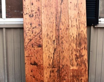 Rustic Dining Room Table Top made with reclaimed 1800's Barn Boards