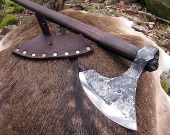 Viking axe, Bushcraft axe, Early medieval axe, Tomahawk, Hand forged axe, Bearded axe, ,Viking battle axe