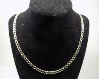 Simple linked chain Sterling Silver