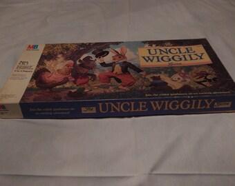 Vintage Uncle Wiggily Board Game 1988
