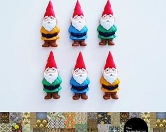 Gnome Fridge Magnet Set
