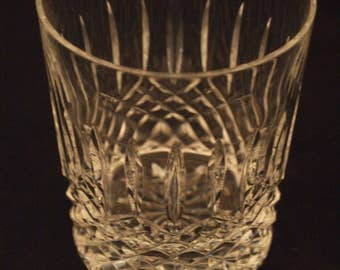 Very Rare Waterford Crystal Flat Tumbler - Ballybay Pattern