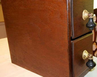 antique sewing machine cabinet drawers