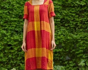 Fleur Crepe Stitch Dress