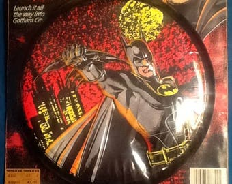 Batman Returns Batdisc Frisbee MINT Spectra Star 1991 Michael Keaton image