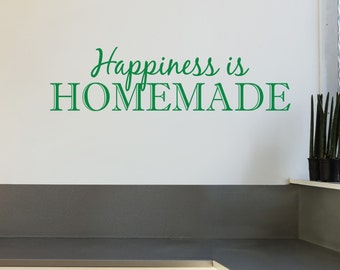 Homemade - Vinyl Wall Decal Quote