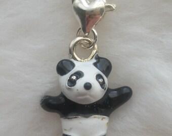 Pandy Bear Charm - Clip-On - Ready to Wear