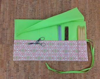 Needle Organizer, needle Organizer, knitting needle bag needle, brush bag, cosmetic bag, organizer MakeUp brush holder makeup