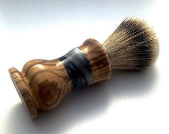 Valentine gifts for him, Badger brush, shaving brush silvertip, shaving brush,gifts for him,custom brush