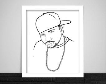 DJ Screw Print