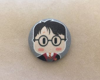 Harry Potter inspired Button