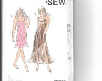 KWIK SEW Pattern 2359