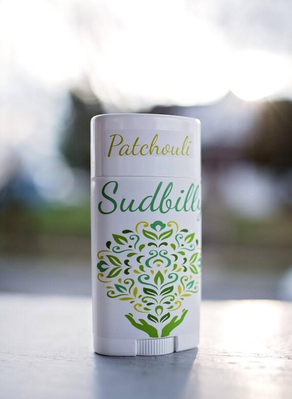 Aluminum Free Patchouli Orange Spice Blend Deodorant, Baking Soda Free  #24957