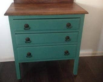 SOLD   Chest of drawers painted Annie Sloan Chalk Paint