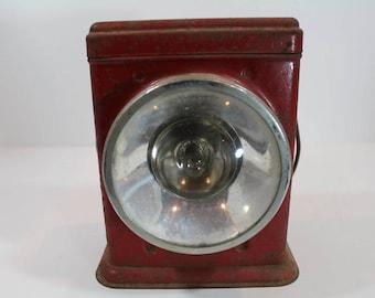 1940's Delta Red Bird Lantern