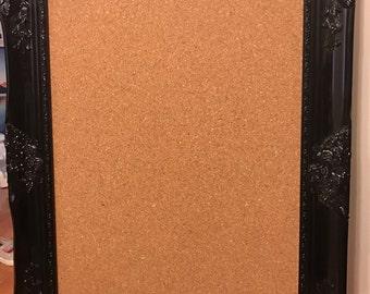 Decorative frame bulletin board
