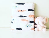 Foldable travel quilt for kids and babies - use as travel blanket, pillow, carry bag or playmat!