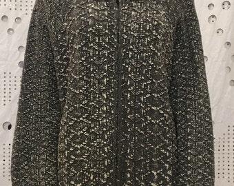 vintage cardigan with zip
