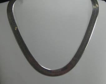 F-66  Vintage Necklace choker 925 silver