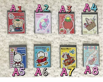 Sanrio Vinyl Sticker A - Choose from 8 Styles
