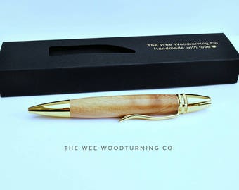 Handmade Ballpoint pen // wooden pen // pens // father's day gift // gifts for him // gifts for her // graduation gift // birthday gift //