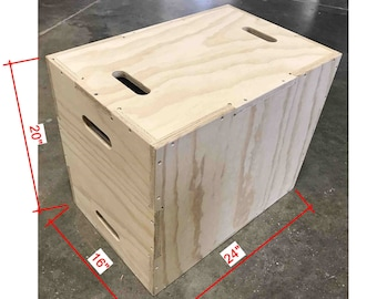 16x20x24 Plyo Box (flat pack)