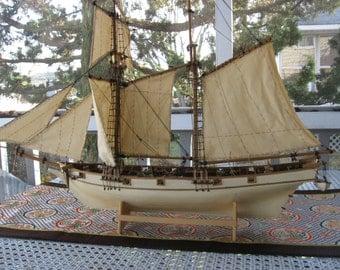 Brig Ship Model