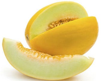Melon JAUNE CANARY 2 seeds/ 1 g/ fresh seeds best before 2019/gardening seeds/vegetable seeds/heirloom seeds/non gmo