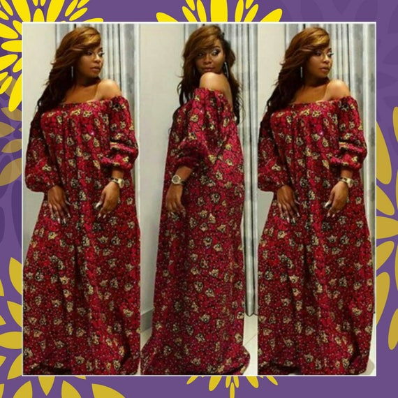 off shoulder african bedazzled dress ankara maxi dress. Black Bedroom Furniture Sets. Home Design Ideas