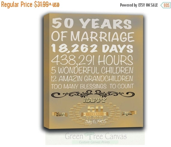 60th Wedding Anniversary Gift Ideas For Parents Australia : 50 years anniversary Gift, 50th 60th birthday gift, Parent Gift ...