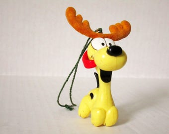 FREE With Qualifying Purchase, Vintage Odie Ornament, FREE Read Entire Description,  Garfield Lover Collectible