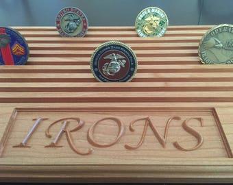 Coin Holder, Military Coin Holder