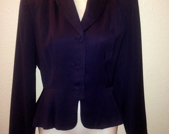 Vintage Tailored 1940's Jacket