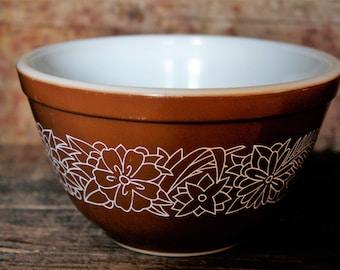 Brown Woodland Pyrex Bowl - 750 ml