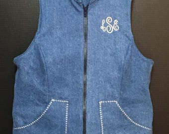 Custom made women's weighted vest