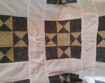 Hand made baby quilt/baby quilt/baby blanket