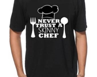 Chef t-shirt, Cooking Tee, Chef Gift Idea, Funny Chef t shirt, Chef shirt, Chef top, Chef tee for him or her, Tshirt
