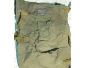 Genuine Soviet Army Military Canvas Duffle Bag Backpack Veshmeshok