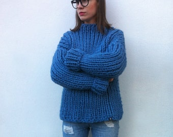 Super Chunky Sweater / Wool Sweater / Alpaca Sweater / Knit Sweater / Chunky Sweater / Chunky knits / Winter Sweater