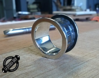 Law.925 Silver mens ring