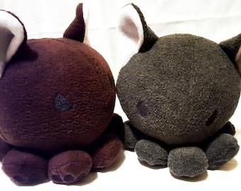 Cute - Octopus - Wolf Plushie - Animal Plush - Made To Order
