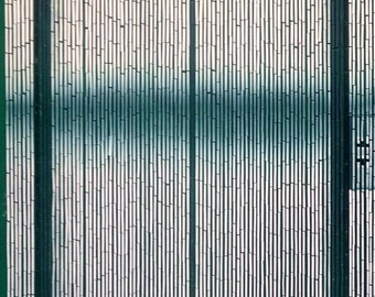 Elevator Bamboo Beaded Curtain