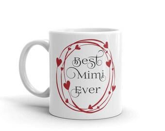 11 oz Coffee Mug: Best Mimi Ever