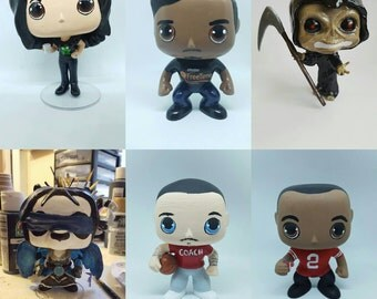 Custom Funko Pops With Matching Box (Please send me a message to consult before placing order)