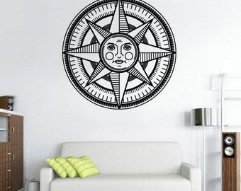 rvz2817 Wall Decal Vinyl Decal Sticker Sun Symbol