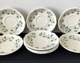 Syracuse China Restaurant ware Dogwood Saucer - 8 Available!!